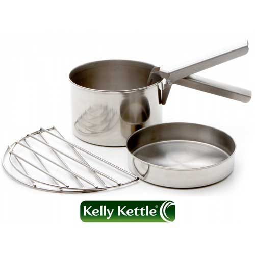 Cook Set (Stainless Steel) - Large for Base Camp or Scout Models